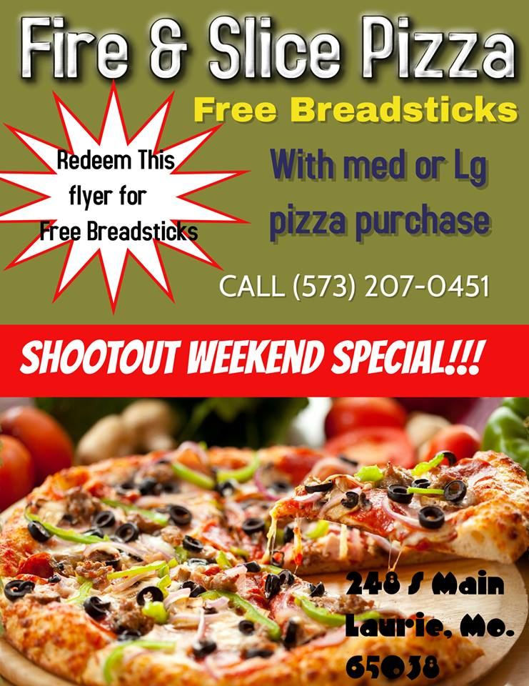 Shoot Out Specials